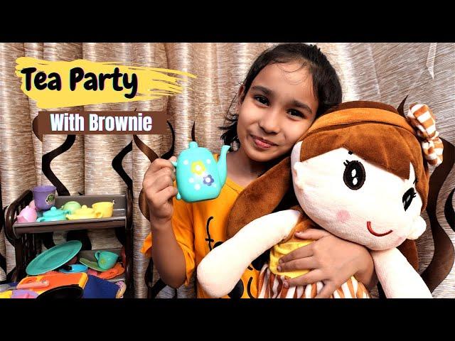 Tea Party Game / PART-1 | #LearnWithPari #Aadyansh