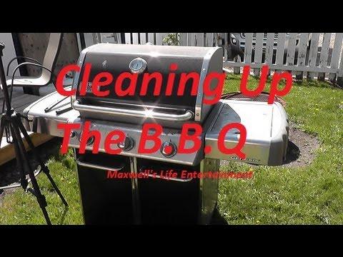 spring 2016 cleaning weber genesis bbq maxwellsworld