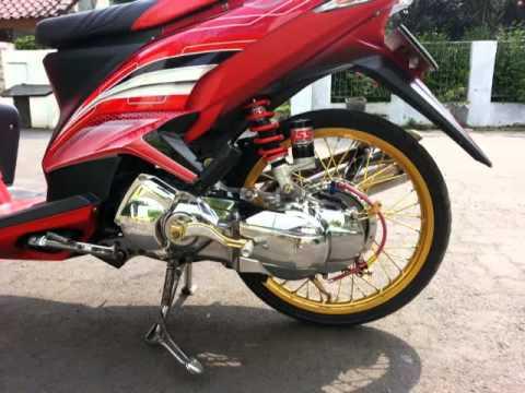 modifikasi motor matic xeon  paling bagus
