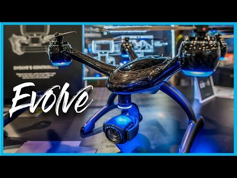 Xdynamics Evolve Drone is gorgeous & loaded with tech | CES 2019