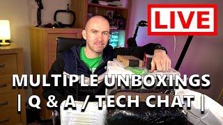 Audio Recording Equipment - Multiple Unboxings, Q & A, Tech Chat & More