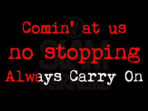 Manowar - Carry On (SLAM KARAOKE Version)