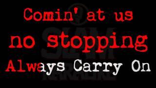 Manowar - Carry On (SLAM KARAOKE Version)