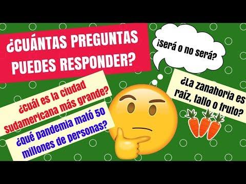 25 PREGUNTAS DE CULTURA GENERAL / EL BAÚL