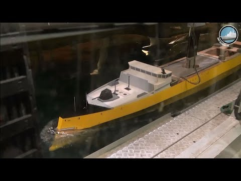 FTI Frigate Hydrodynamic Test by DGA French Procurement Agency