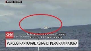 Detik-detik Pengusiran Kapal Asing di Perairan Natuna