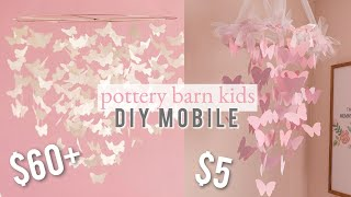 NURSERY DECOR DIY | MOBILE | CRICUT