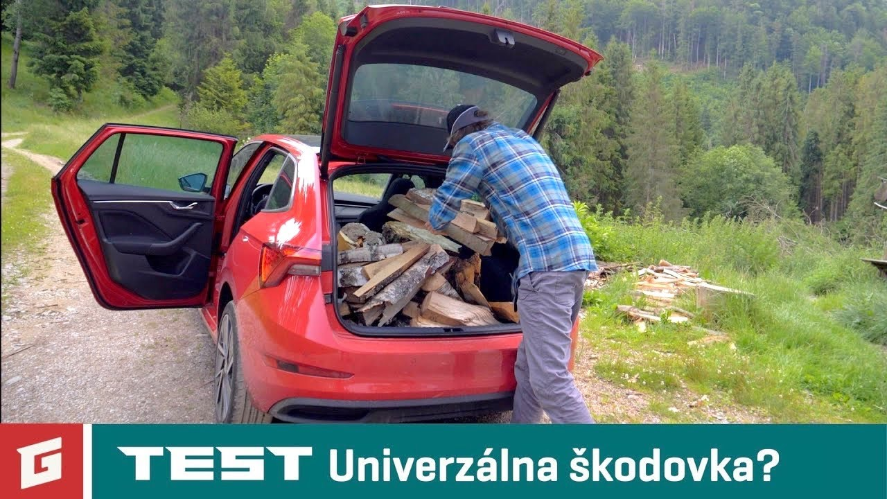Skoda Scala 1.5 TSI DSG - TEST - Od Tatier k Dunaju - GARAZ.TV - YouTube
