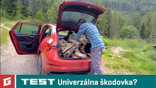 Skoda Scala 1.5 TSI DSG - TEST - Od Tatier k Dunaju - GARAZ.TV