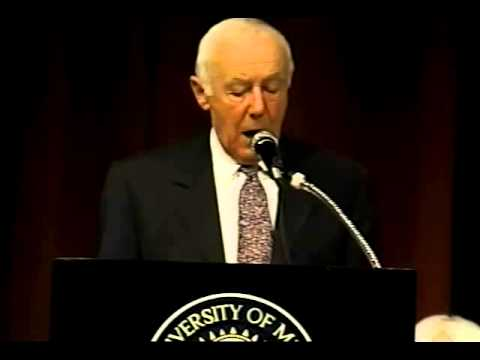 Simcha Rotem, 1997 Wallenberg Lecture