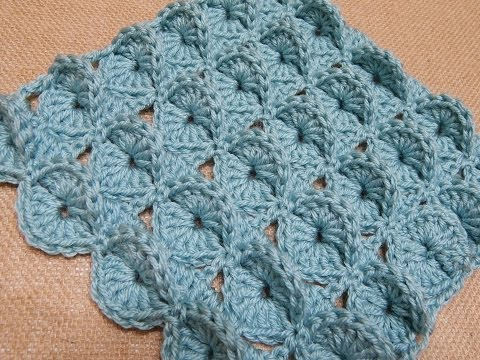 Cobija Manta para Bebe Crochet - YouTube