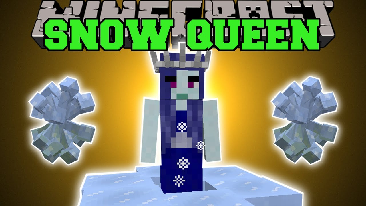 Minecraft Queen Of Snow Aurora Palace Land Of Giants