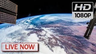 """NASA LIVE: 👽🌎 """"EARTH FROM SPACE"""" ♥ #LiveStream #SpaceTalk (2017) HDVR 