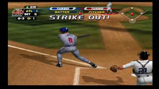 MLB Slugfest 2003 - Season Mode  - World Series (Game 1)