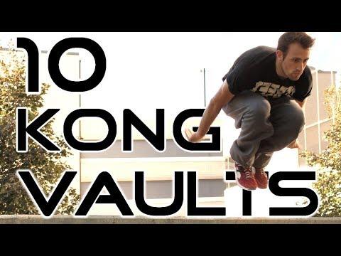10 Kong Vault Variations + 2 Bonus Tricks