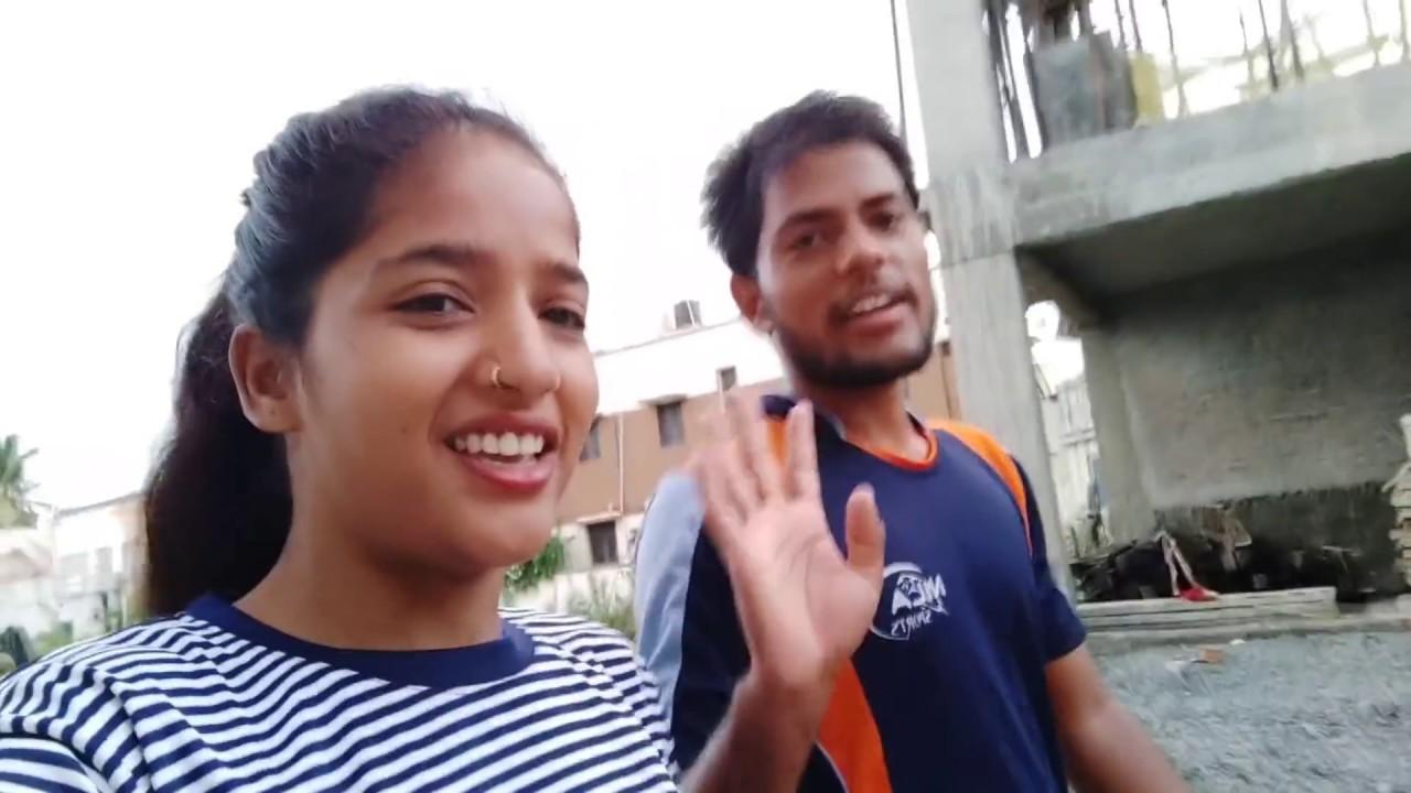 Morning walk with my husband#Kavitameena#Rajasthan#khedan#jagsoli#