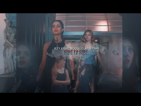 Isabelle Lightwood/ Clary Fray|| ● Side to side●