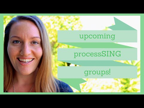 ProcessSING Groups with Lauren Arrow 2015