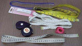 1/4 Измерительные и чертёжные инструменты портного. Сантиметровые ленты