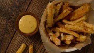 Butternut Squash French Fries - Cook Taste Eat