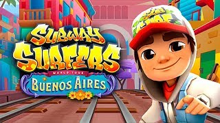 SUBWAY SURFERS BUENOS AIRES ANDROID GAME PLAY #46 HD