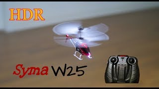 HDR Video: Syma W25 RC Helicop…