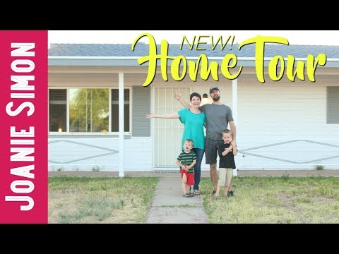 WE MOVED | tour our new ranch style home