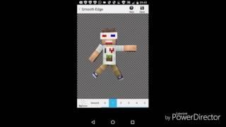 Como fazer o seu skin segurando uma plaquinha de like na mão pelo Android - Droid Adventure#