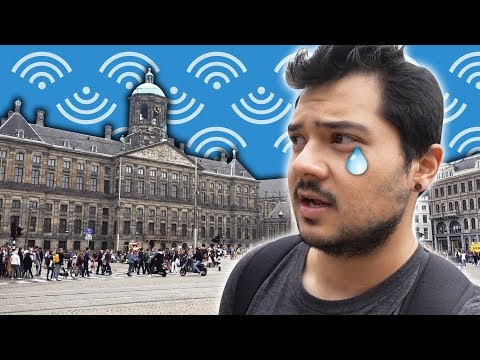 The WiFi in Amsterdam was AWFUL!