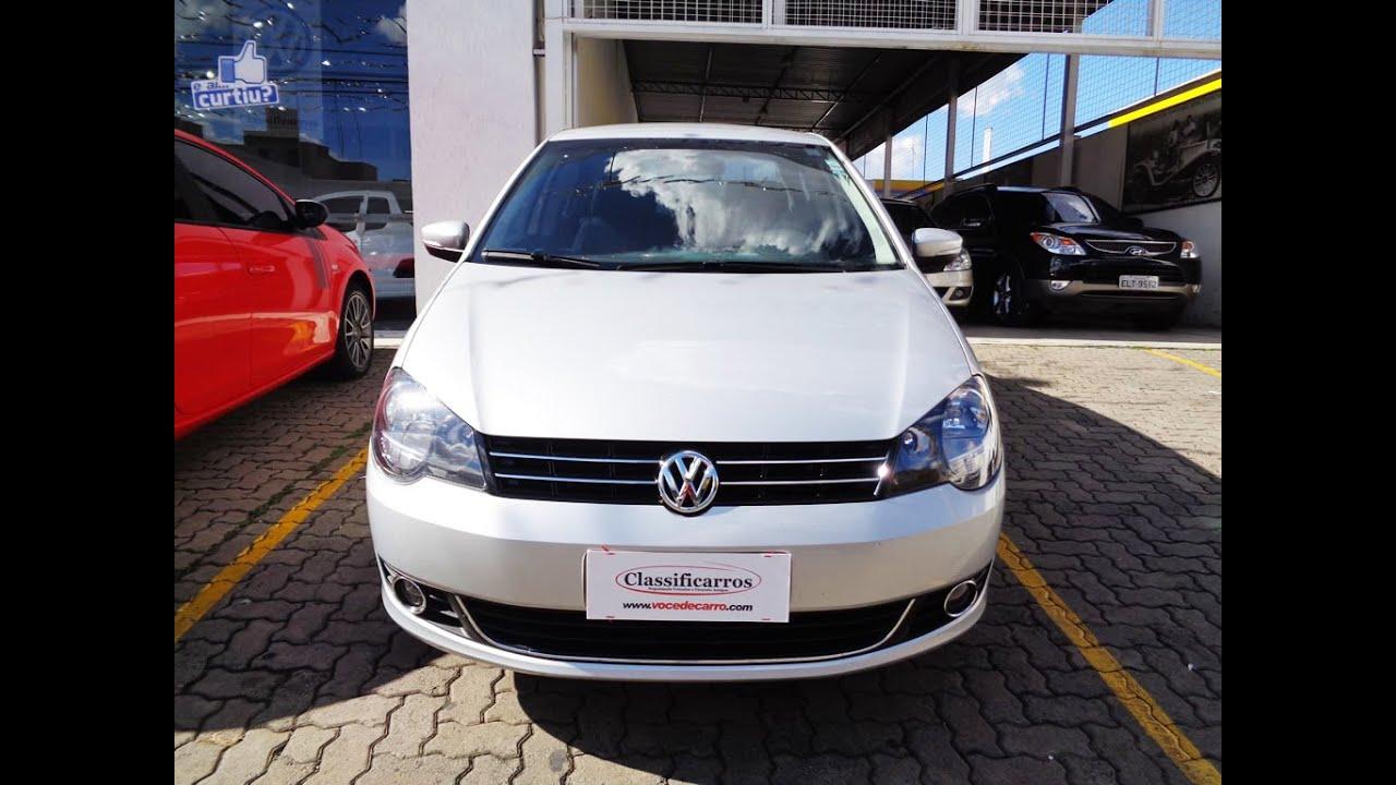 e4e0f92076 Volkswagen Polo Sedan Comfortline 1.6 8v (Flex) - 2013 - YouTube