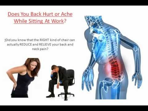 best chair for back pain relief? back pain chair review - youtube