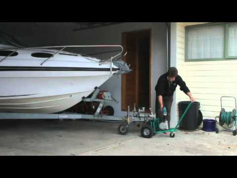 Electric Trailer Dolly >> homemade battery drill powered trailer dolly II.mov - YouTube
