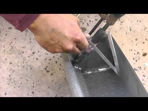 How To Rain Gutters Soldering Video 01 Doovi