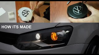 HOW IT'S MADE // VW POLO BI-XENON RETROFIT AND LED APPLICATION (R LINE LOGO)