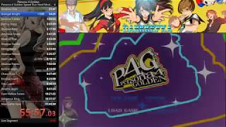 Persona 4 Golden Speed Run Fails & Rage Quits