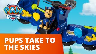 PAW Patrol | Flight Rescues! Pups Take to the Skies! | Toy Episode