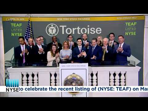 TORTOISE ESSENTIAL ASSETS INCOME TERM FUND (NYSE: TEAF) RINGS THE NYSE OPENING BELL®