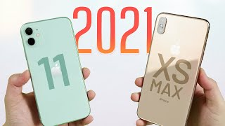 Mua iPhone cũ cho 2021: iPhone XS Max hay iPhone 11?