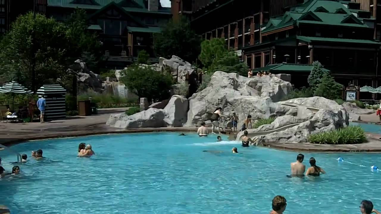 Wilderness lodge pool hd youtube for Pool pictures