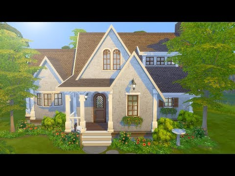 COUNTRYSIDE COTTAGE // The Sims 4: Speed Build thumbnail