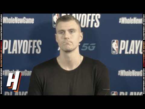 Kristaps Porzingis on Ejection, Postgame Interview – Game 1 vs Clippers | 2020 NBA Playoffs