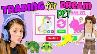 DREAM PET in Adopt Me 😍 traden mit Community für eine Turtle!! 😝 Alles Ava Gaming