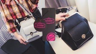 Псевдо кожаный женский рюкзак.  Гламур и изобилие в женской сумке с АлиЭкспресс(, 2017-08-21T16:11:58.000Z)