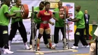 2010 IPF World Championship Lin Ming-Hui 275 Kg Squat