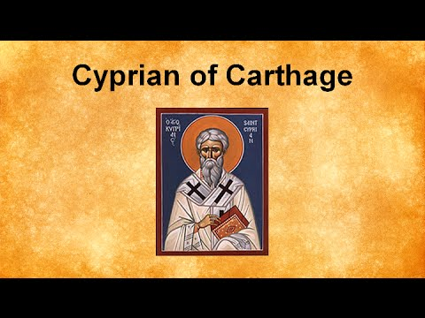cyprian of carthage Containing the epistles and some ot the treatises ii containing the remainder of the treatises, together with the writings of novatian [and] minucius felix [the seventh council of carthage under cyprian, treatises attributed to cyprian on questionable authority, the passion of the holy martyrs.