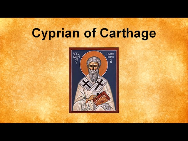 Cyprian's Conversion