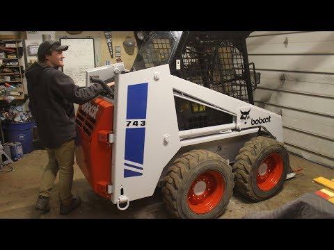 Bobcat Skidsteer Restoration FULL BUILD VIDEO!