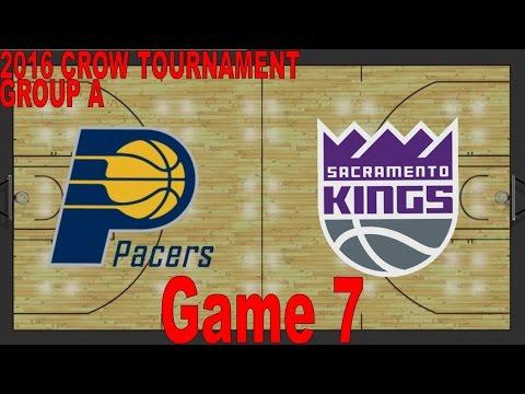 2016 Crow Tournament - Group A: Indiana Pacers vs. Sacramento Kings