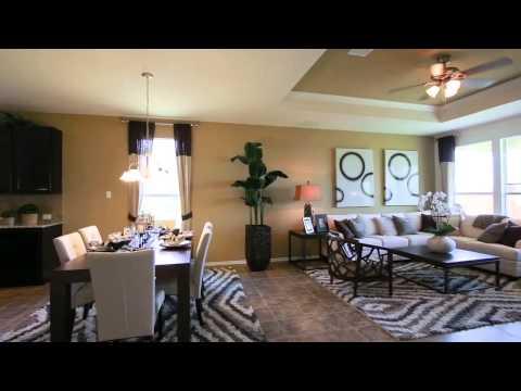 New Homes by Centex in Austin Texas - Compton Floorplan
