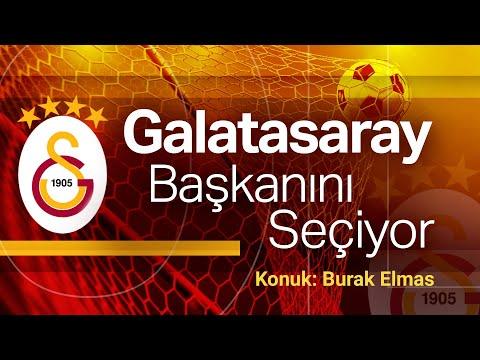 Galatasaray Başkanını Seçiyor | Burak Elmas projelerini anlatıyor